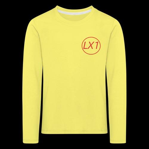WilleLX1 Logo - Långärmad premium-T-shirt barn