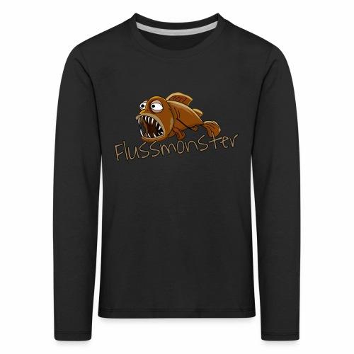 Flussmonster - Kinder Premium Langarmshirt