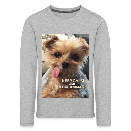 Dog - Kinder Premium Langarmshirt