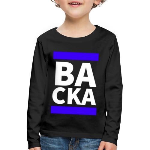 Backa - Långärmad premium-T-shirt barn