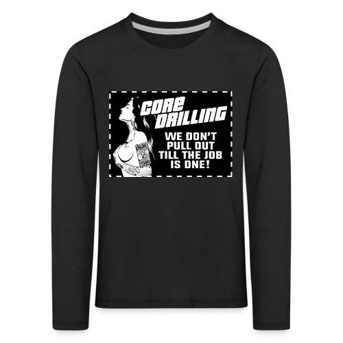 Core Drilling - Långärmad premium-T-shirt barn
