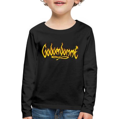 godverdomme - T-shirt manches longues Premium Enfant