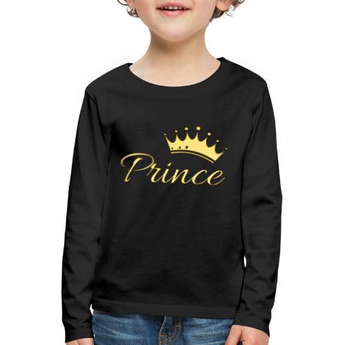 Prince Or -by- T-shirt chic et choc - T-shirt manches longues Premium Enfant