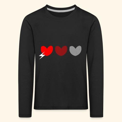 3hrts - Børne premium T-shirt med lange ærmer