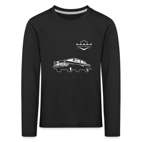 logo-chaika_ white_LOGO C - Kids' Premium Longsleeve Shirt