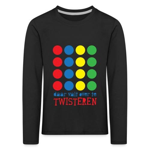 Twister - Kinderen Premium shirt met lange mouwen