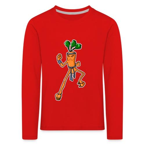 KarateKarotteSansTexte - T-shirt manches longues Premium Enfant