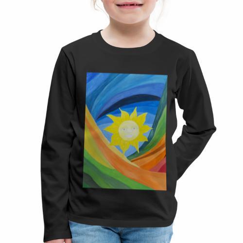 lachende-sonne - Kinder Premium Langarmshirt