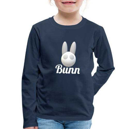 White Bunn - Kids' Premium Longsleeve Shirt