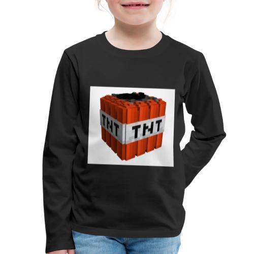 tnt block - Kinderen Premium shirt met lange mouwen