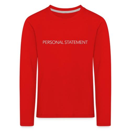 n png - Kids' Premium Longsleeve Shirt