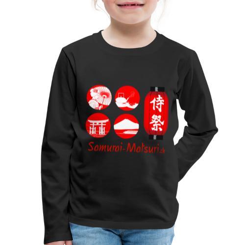 Samurai Matsuri Festival - Kinder Premium Langarmshirt