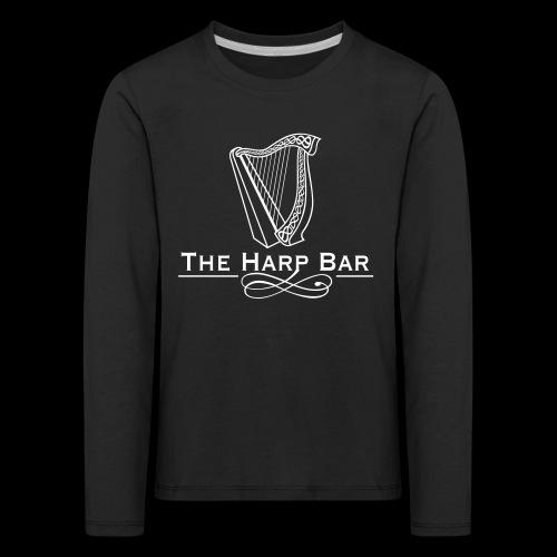 Logo The Harp Bar Paris - T-shirt manches longues Premium Enfant
