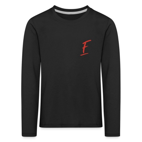 Radio Fugue F Rouge - T-shirt manches longues Premium Enfant