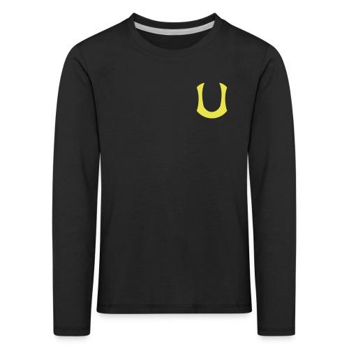 U-merkki_kelt - Lasten premium pitkähihainen t-paita