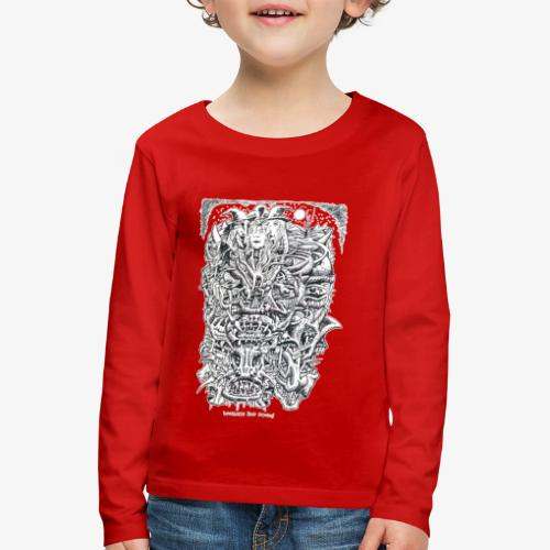 Witches And Devils - Kids' Premium Longsleeve Shirt