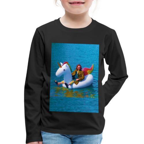 René Unicorn - Kinderen Premium shirt met lange mouwen
