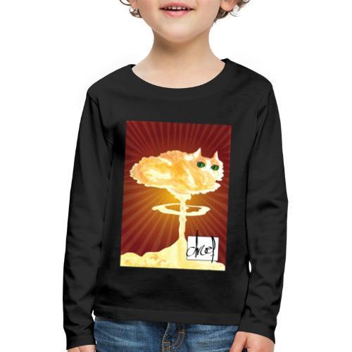 Atoompoes - Kinderen Premium shirt met lange mouwen