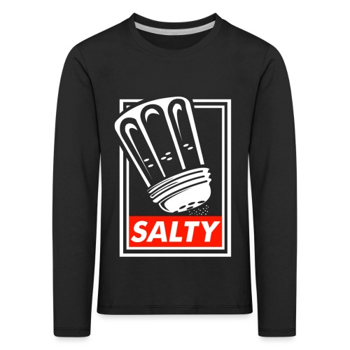 Salty white - Kids' Premium Longsleeve Shirt