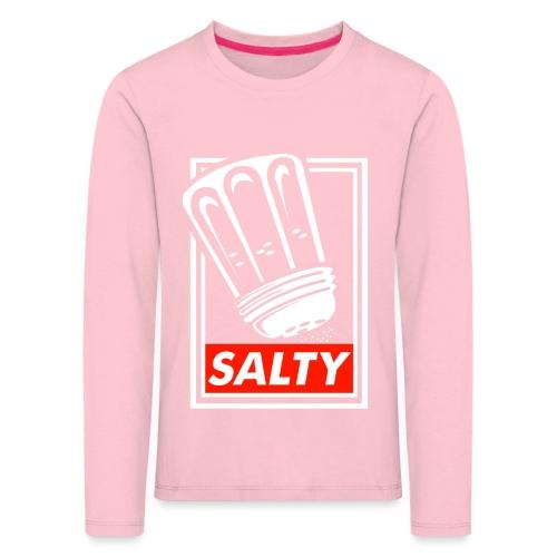 Salty white - Kids' Premium Longsleeve Shirt