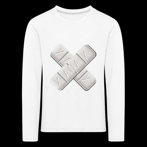 Xanax X Logo - Kinder Premium Langarmshirt