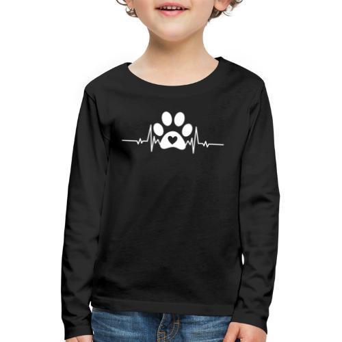 Fingerprint the dog - Camiseta de manga larga premium niño