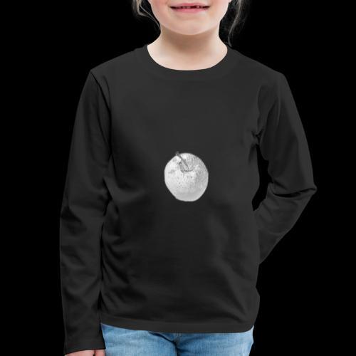 Apfel - Kinder Premium Langarmshirt