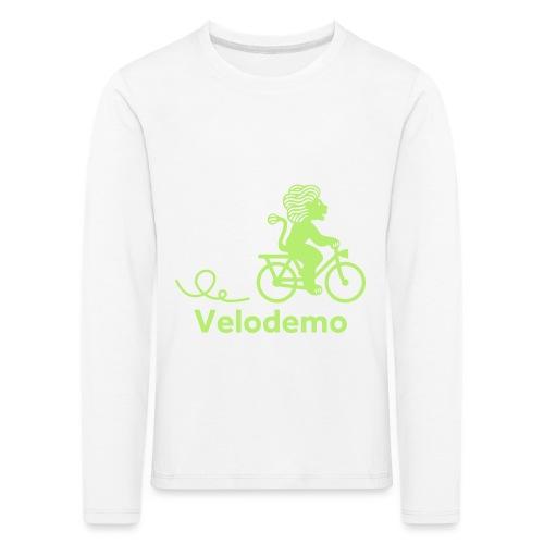 Züri-Leu mit Text - Kinder Premium Langarmshirt