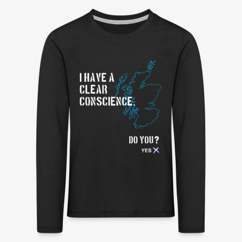 Clear Conscience - Kids' Premium Longsleeve Shirt