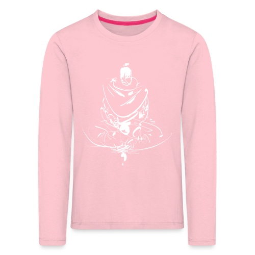 Iaido Samurai Zen Meditation - Kids' Premium Longsleeve Shirt
