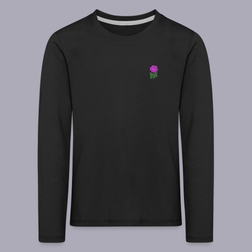 Landryn Design - Pink rose - Kids' Premium Longsleeve Shirt