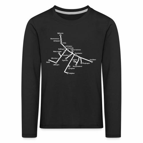 Lisch Tisch Hoods - Långärmad premium-T-shirt barn