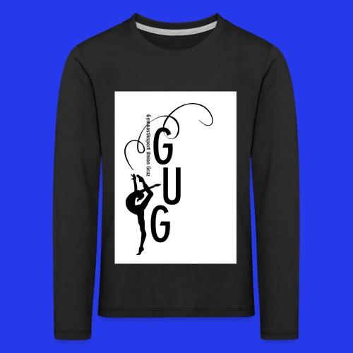 GUG logo - Kinder Premium Langarmshirt