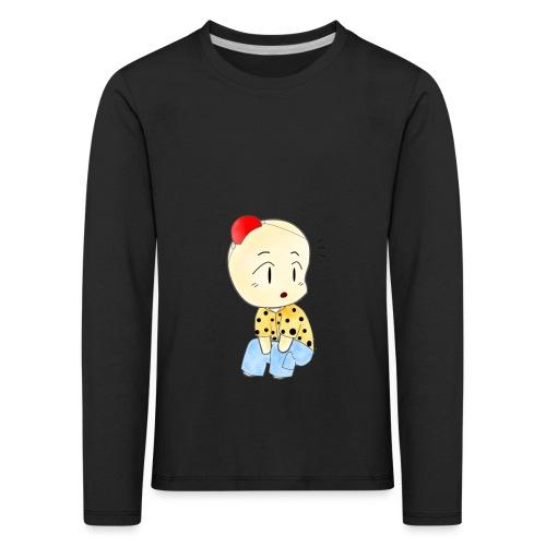 CLOWN RUNDO - Maglietta Premium a manica lunga per bambini