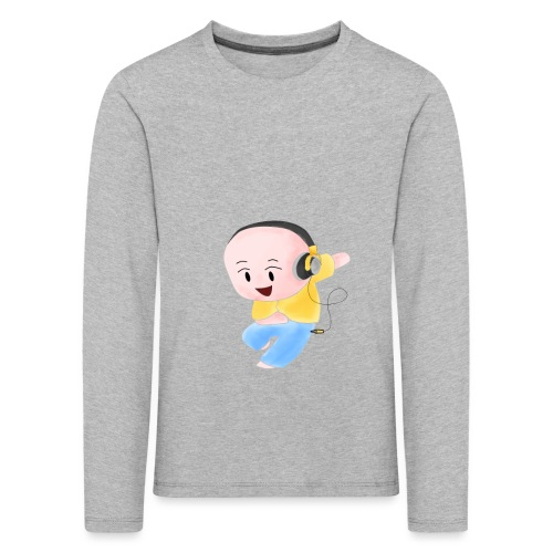 DJ ME - Maglietta Premium a manica lunga per bambini