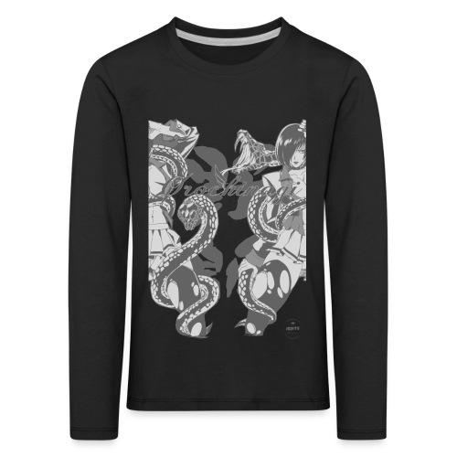 Bliss Yagami Grey - T-shirt manches longues Premium Enfant