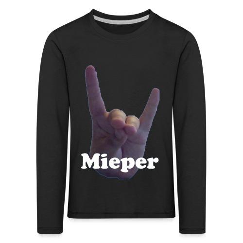 Mieper - Kinderen Premium shirt met lange mouwen