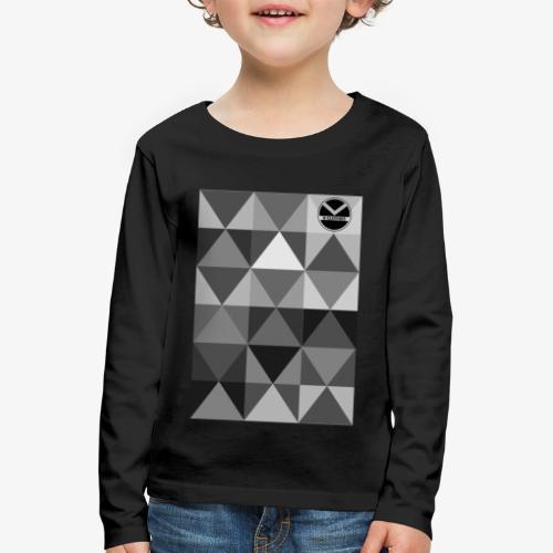  K·CLOTHES  TRIANGULAR ESSENCE - Camiseta de manga larga premium niño