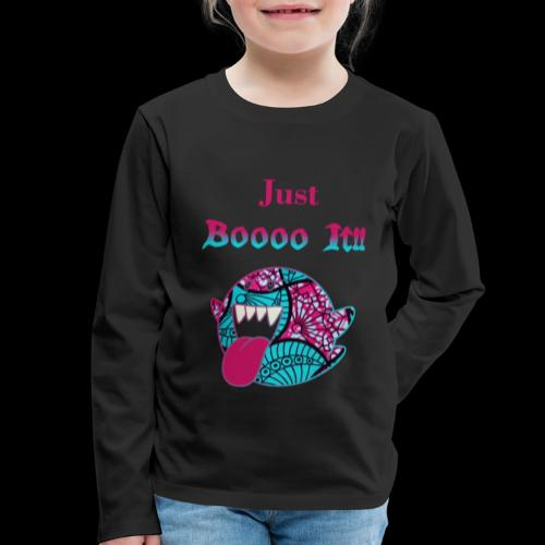 Just Boooo It : Pink Power !!! - T-shirt manches longues Premium Enfant