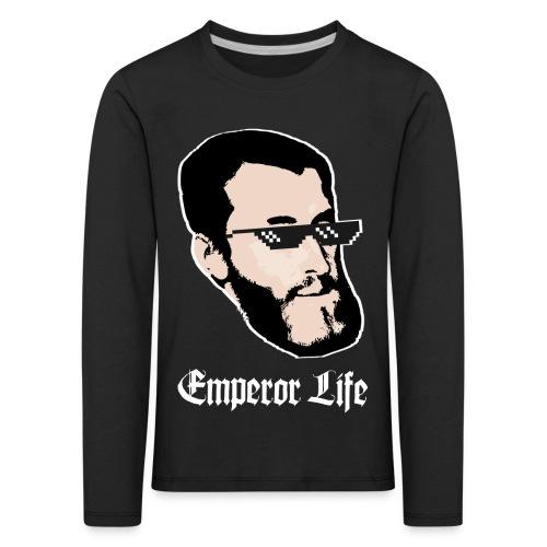 Carlos I y V de Alemania (Emperor Life) URBANO - Camiseta de manga larga premium niño