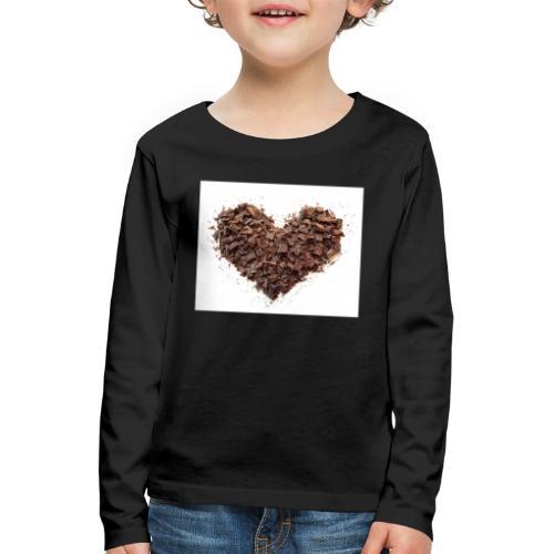 LOVERZ GONNA LOVE chocolat - T-shirt manches longues Premium Enfant