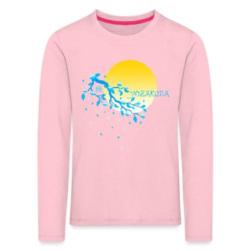 Cherry Blossom Festval Full Moon 2 - Kinder Premium Langarmshirt