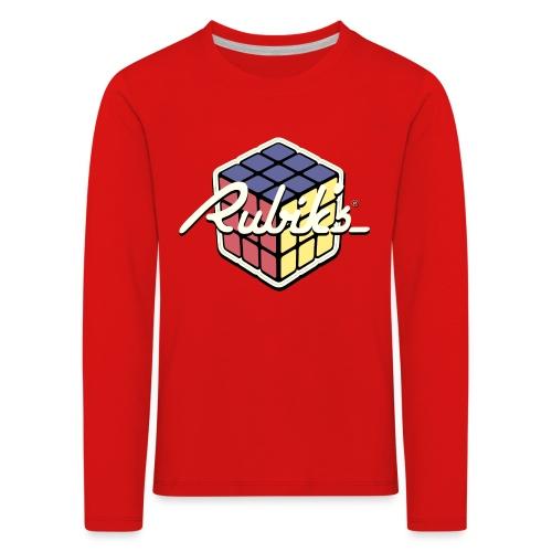 Rubik's Cube Retro Style - Kids' Premium Longsleeve Shirt