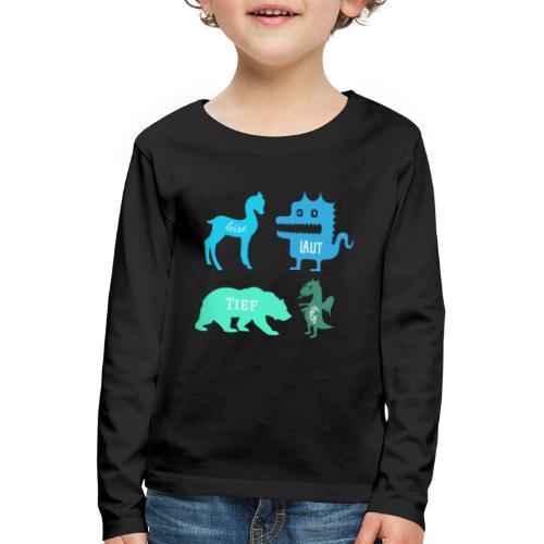 The Voice Kids - Kinder Premium Langarmshirt