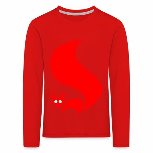Eichhörnchen - Kinder Premium Langarmshirt