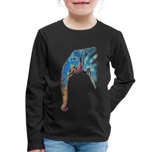 Éléphant Design - T-shirt manches longues Premium Enfant