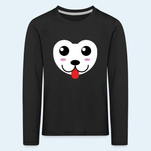 Husky perro bebé (baby husky dog) - Camiseta de manga larga premium niño
