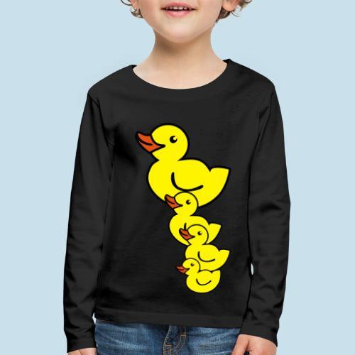 Ente - Kinder Premium Langarmshirt