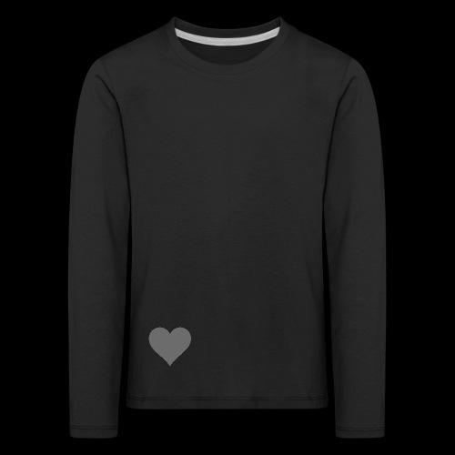 hearth design tee - Børne premium T-shirt med lange ærmer