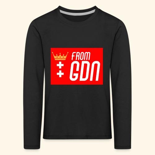 #fromGDN - Koszulka dziecięca Premium z długim rękawem